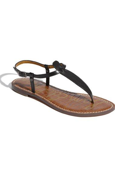 Black GiGi Sandal $75