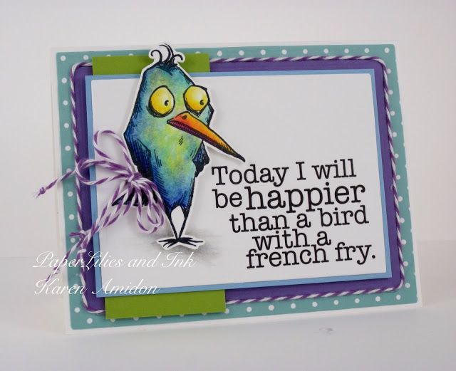 PaperLilies and Ink: HAPPIER THAN A FRENCH FRY! | Bird Crazy ...