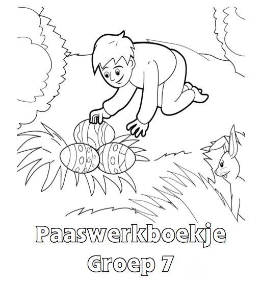 Paaswerkboekje Groep 7