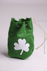 """Make a """"Magic"""" Leprechaun Pouch! (Make a message """"appear"""" in the pouch out of thin air.)"""