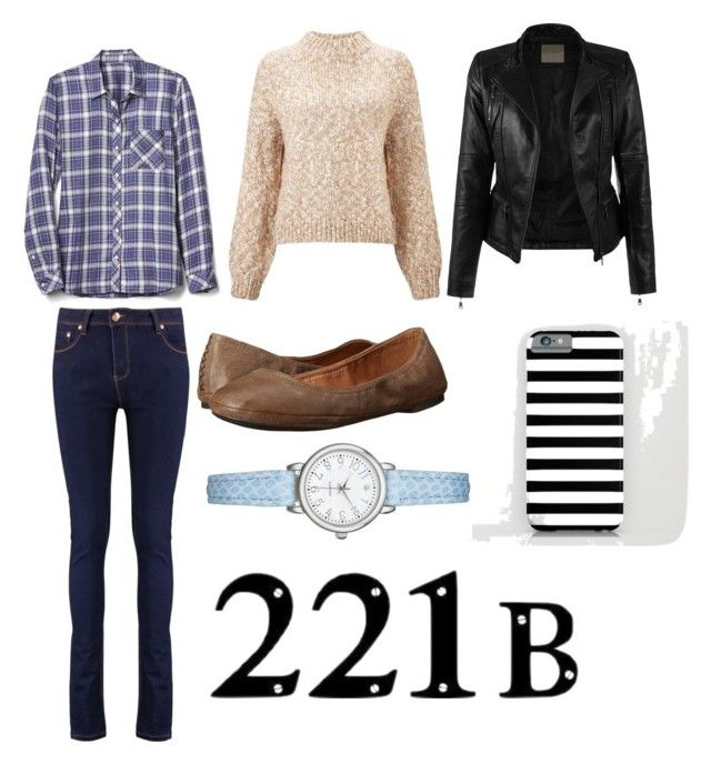 """""""John Watson-Inspired Outfit"""" by ash1317 on Polyvore featuring Gap, Miss Selfridge and Lucky Brand"""