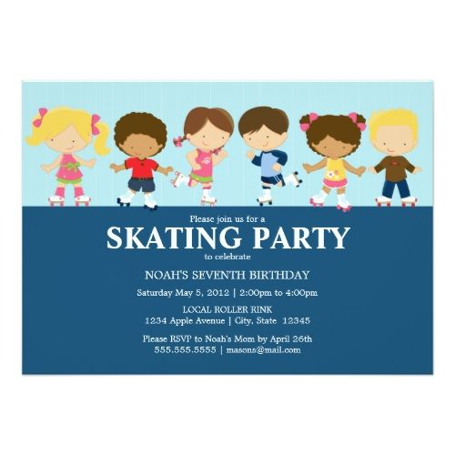 120 best Roller Skate Birthday Party Invitations images – Party Invitation Sites