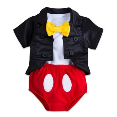 Mickey Mouse Tuxedo Costume Bodysuit for Baby
