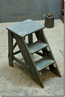 vintage-ladder-plans, Free Antique Ladder Building Plans remodelaholic.com #ladder #plans #building #diy