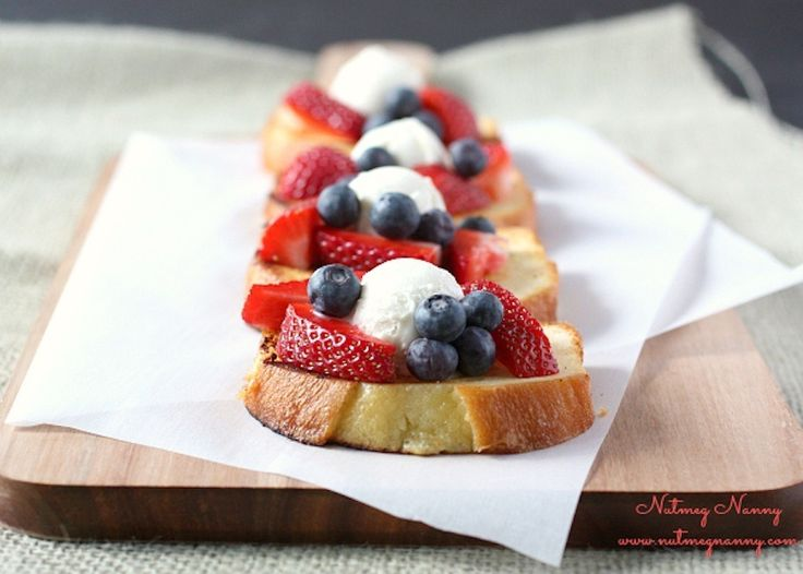 Grilled poundcake: http://www.stylemepretty.com/living/2015/05/15/girly-grill-inspiration-for-your-next-bbq-bash/
