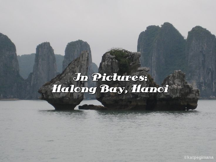 A photo essay of our boat cruise on Halong Bay in Hanoi.