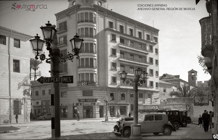 Plaza de Cetina. Murcia.