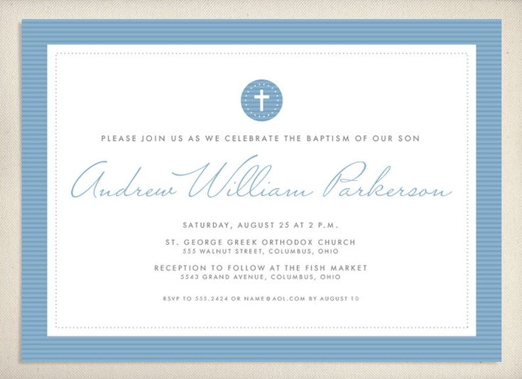 #Baptism #Invitation