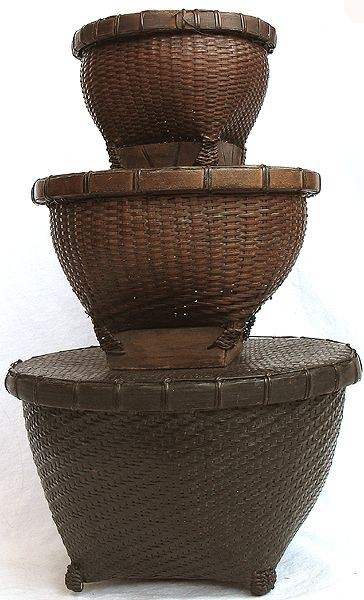 Woven Basket Procedure : Best images about art basketry on