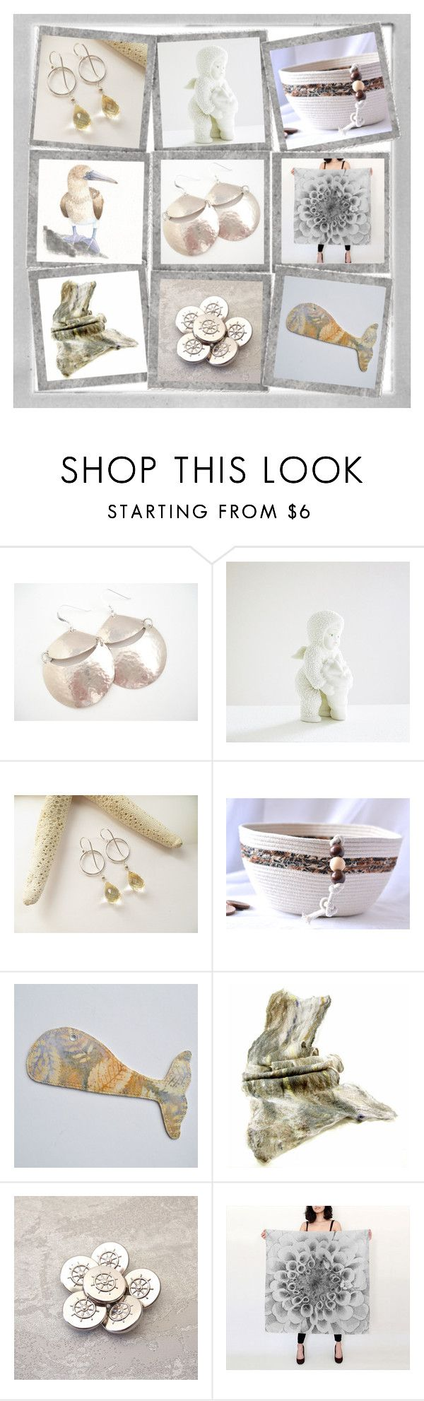 """""""Winter Whispers"""" by whimzingers ❤ liked on Polyvore featuring Polaroid and Department 56"""