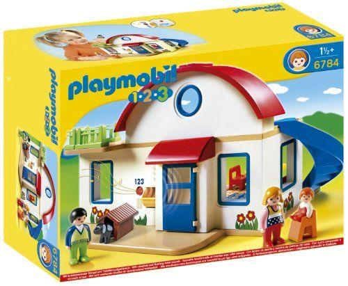 Playmobil - 6784 - Figurine - Maison De Campagne Playmobil http://www.amazon.fr/dp/B00B3QT8EE/ref=cm_sw_r_pi_dp_tg4Eub1M5JTS5