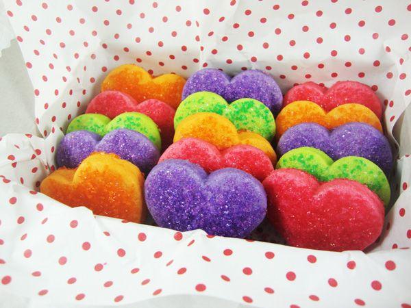 Jell-O Cookies - Valentine Jello Heart Cookies In Box