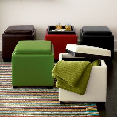 Dorm Room Storage Ottoman All Furniture Should Be Dual Purpose With Storage Being One