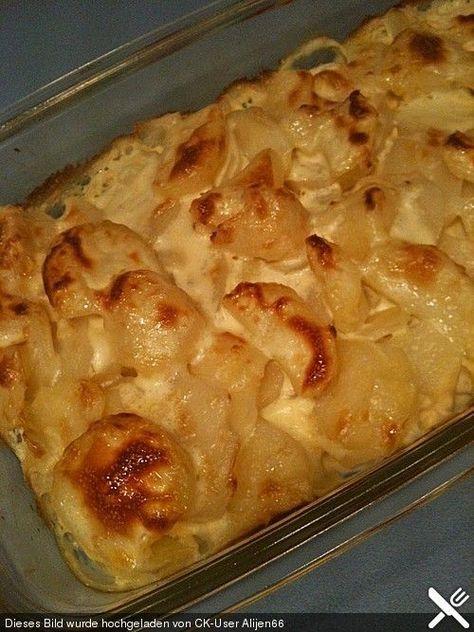 Kartoffelauflauf mit Schmelzkäse (Rezept mit Bild) | Chefkoch.de