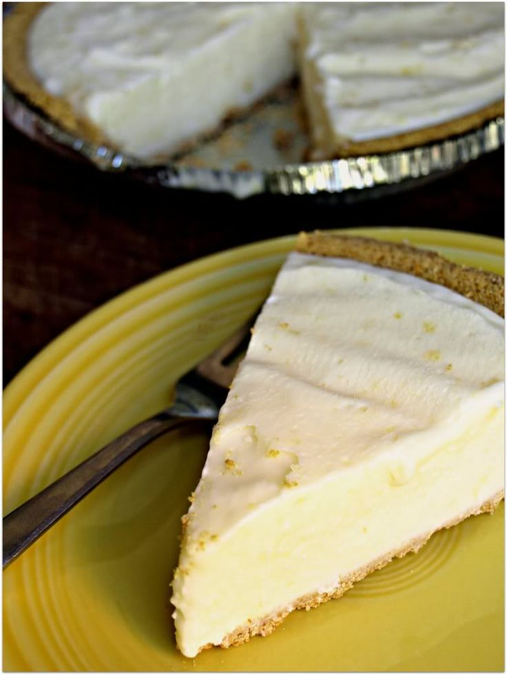 super easy lemon icebox pie. just made this and it is seriously the best tasting lemon icebox pie ever. i was scraping the leftover filling out of the bowl. soooo gooood.