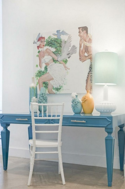 Painted Desks 75 best painted desks and bookcases ideas images on pinterest