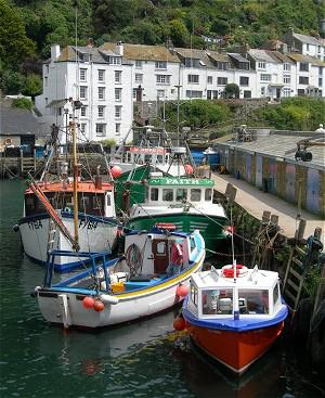 Polperro, Cornwall UK