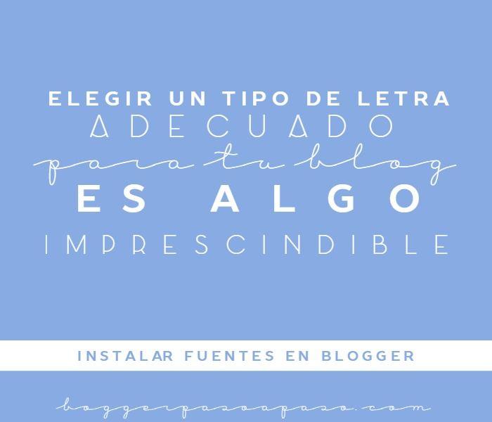 Tutorial Blogger: Como instalar fuentes en Blogger http://blgs.co/8QiT2o