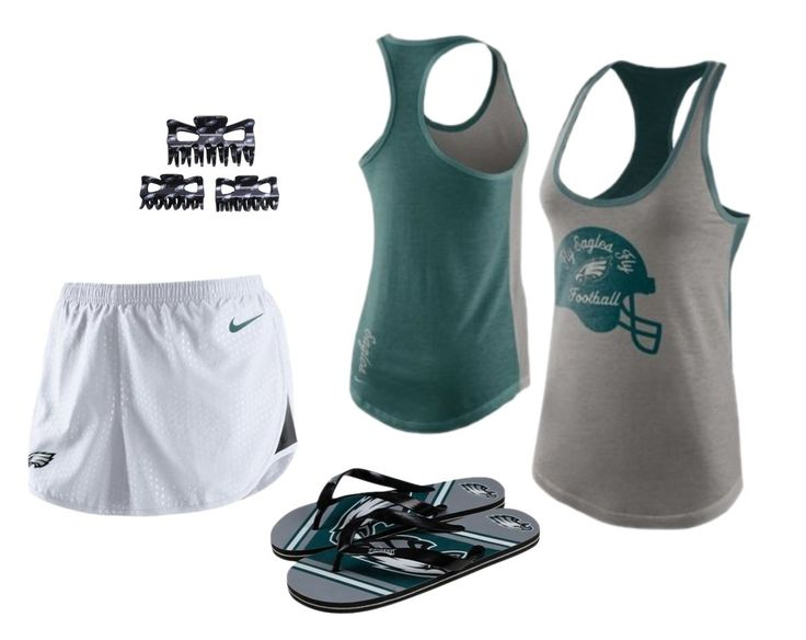 Keep your post-workout outfit stylish with #Eagles gear