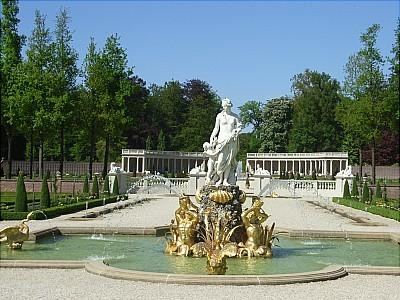detail of the garden of Palace het Loo, the Netherlands