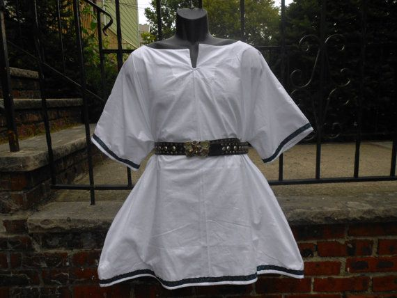 Custom made medieval Shirt w/ trim viking by mysticalmooncreation, $40.00: Historical Theatrical, Clothing Costumes, Recreation Costumes, Trim 28 00, Medieval Shirts, Trim Vikings, Adult Medieval