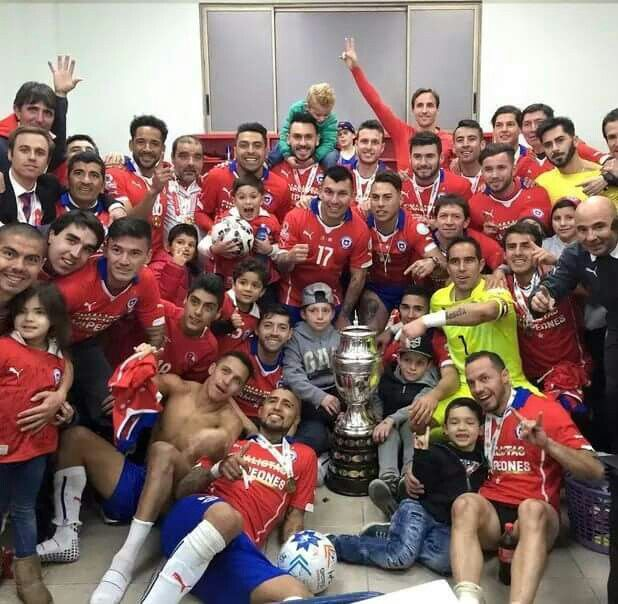 Chile campeon Copa América 2015