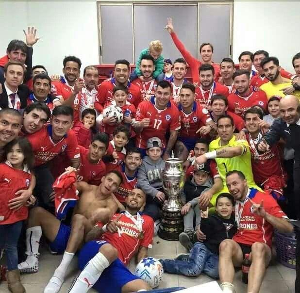 Chile campeon Copa América 2015