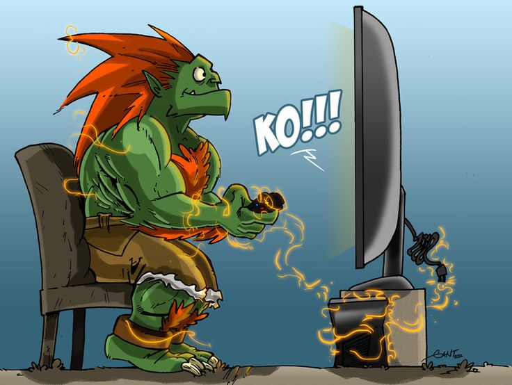 My Street Fighter 25th Anniversary Art Tribute cartoon.