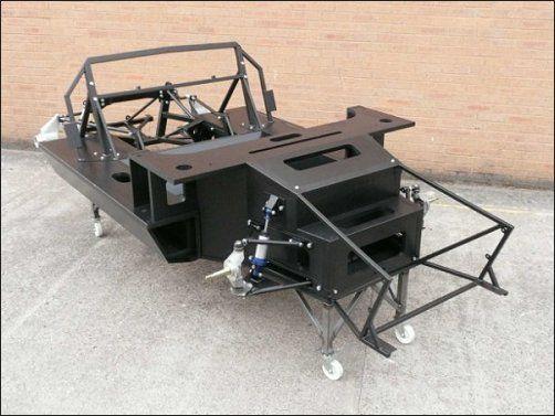 Carbon Fibre Monocoque Chassis For Gt40 Replica From Tornado Sports