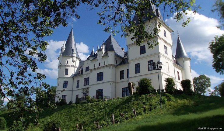 Tiszadob - Andrássy-kastély - várak és kastélyok
