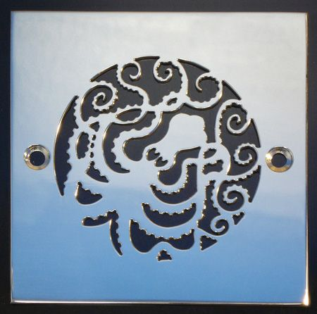 shower drain cover i am thinking i am developing a thing for the octopus