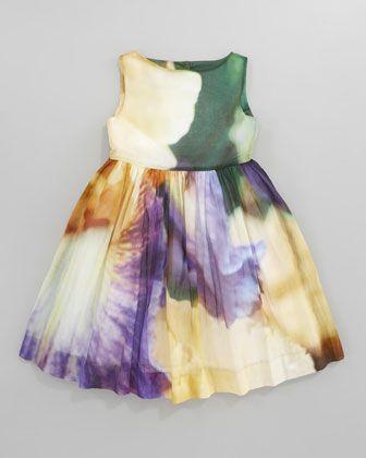 Iris Party Dress by Oscar de la Renta at Neiman Marcus.