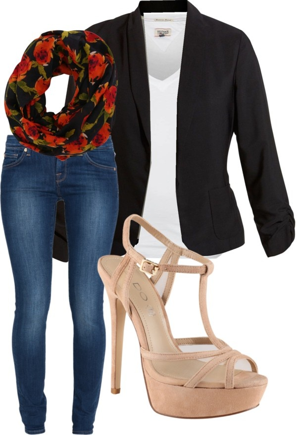 """""""Blazer Outfit no.1"""" by huiwenzheng on Polyvore"""