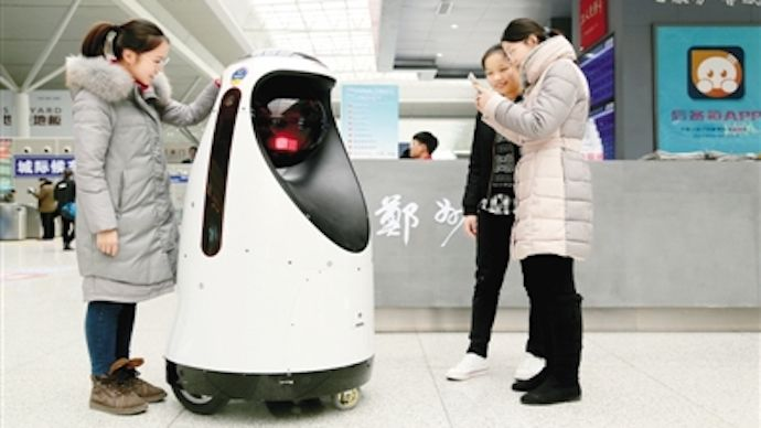 Serve the public trust, protect the innocent, uphold the law: Chinese robot police officers are using facial recognition to catch criminals. The new E-Patrol Robot Sheriff recently rolled into the Zhengzhou East Railway …