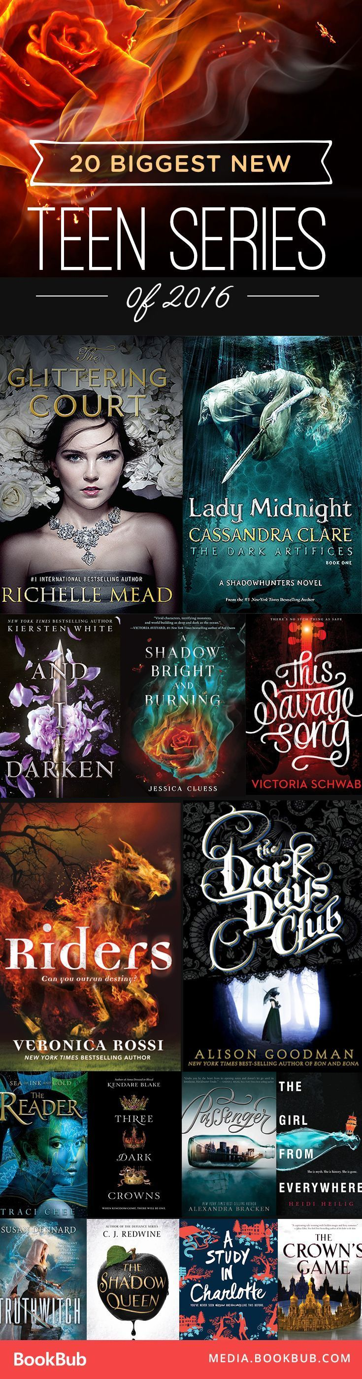 2912 best all about books images on pinterest thoughts book 20 biggest teen series that launched in 2016 fandeluxe Images