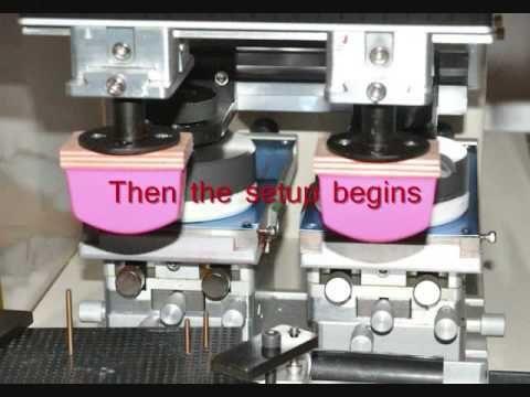 Pad Printing Machine -Automatic -Indus Engineering -Bangalore - YouTube