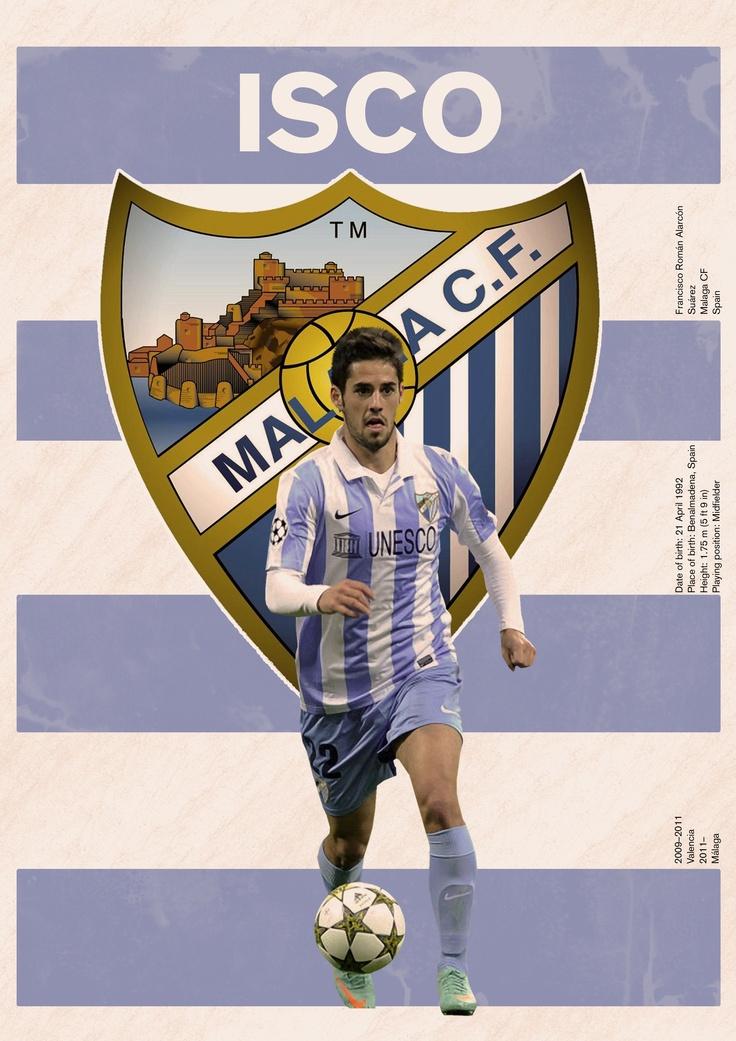 The Isco/Malaga poster