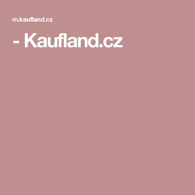 - Kaufland.cz