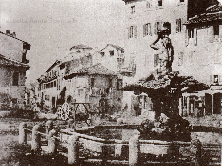 Piazza Barberini Anno: 1847