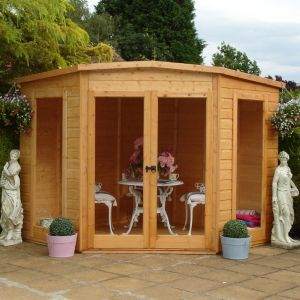 Shire 7X7 Barclay Shiplap Timber Summerhouse 7X7 Barclay Shiplap Timber Summerhouse.This Barclay 7x7 summerhouse is perfect for use as a summerhouse hobby room or playhouse. Assembly required. (Barcode EAN=5019804999170) http://www.MightGet.com/april-2017-1/shire-7x7-barclay-shiplap-timber-summerhouse.asp