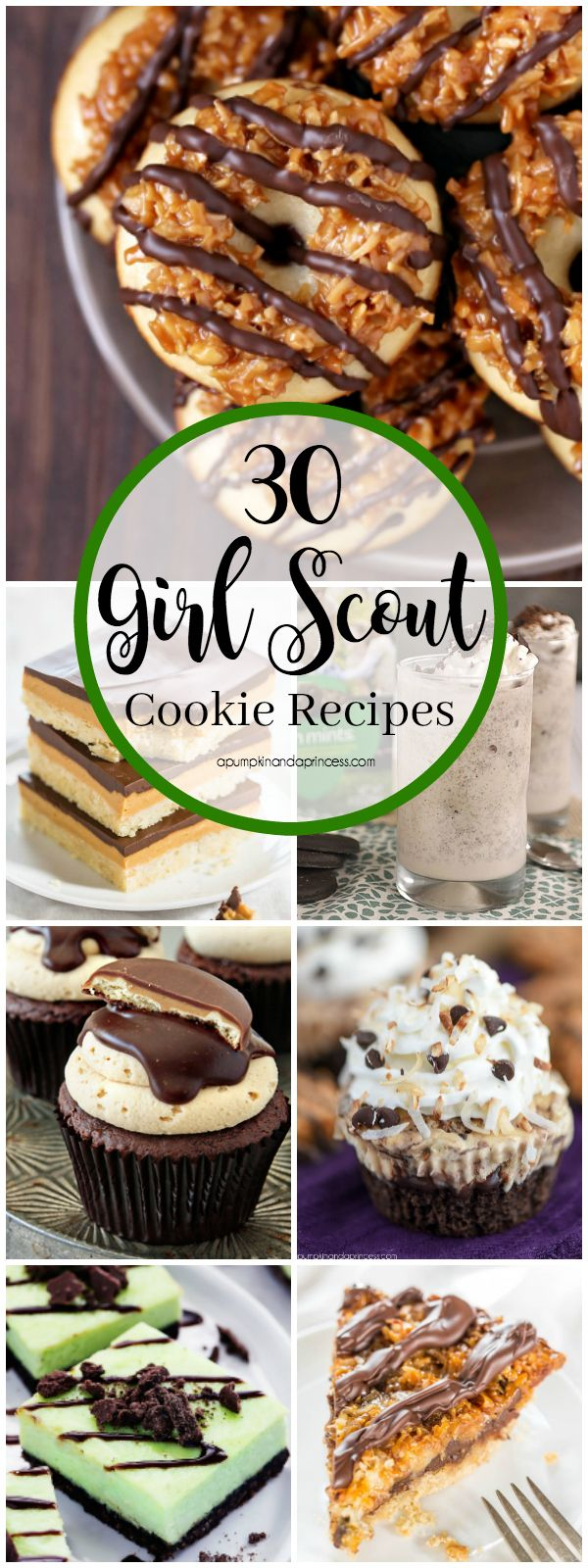 30 Girl Scout Cookie Recipes