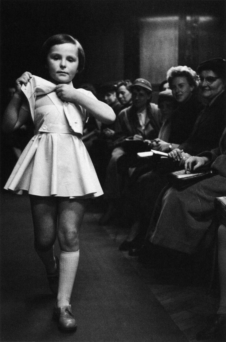 by Erich Lessing - a children's fashion show, vienna, austria, 1954