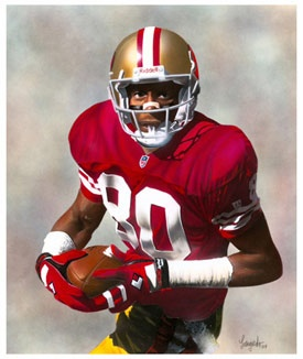 Jerry Rice- Wide Receiver