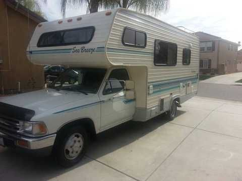 1993 Toyota Seabreeze Motor Home Excelent Shape Inside N Out Low Miles