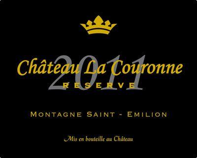 Château La Couronne - Montagne Saint Emilion