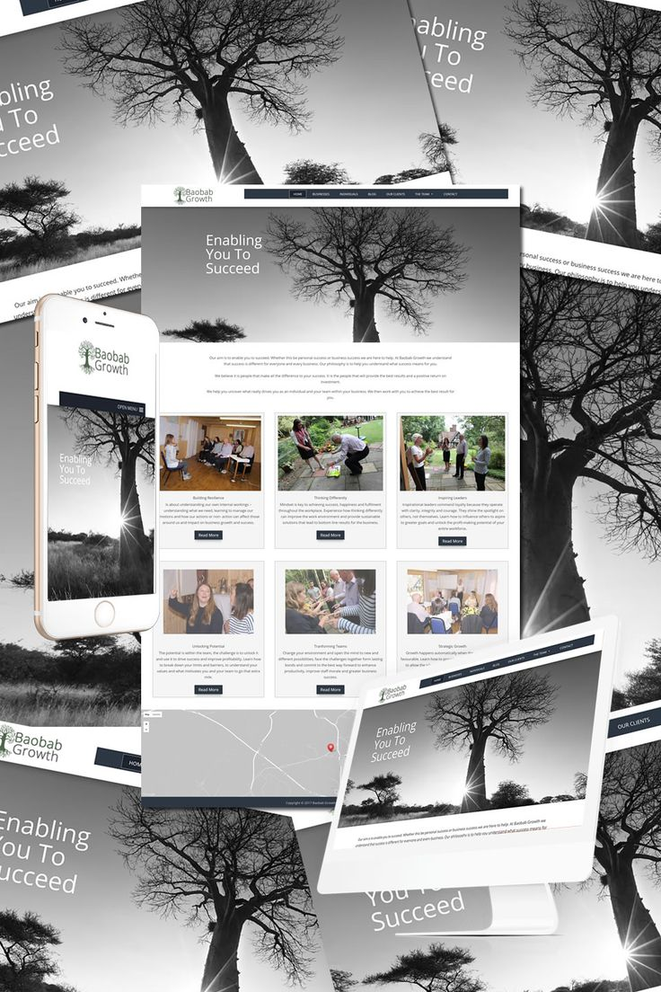 """The New Website for Baobab Growth in the New Forest is now """"live"""" https://hostcat.co.uk/project/baobab-growth/"""