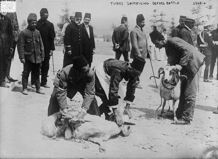 Çanakkale / Gallipoli: Sacrificing before battle