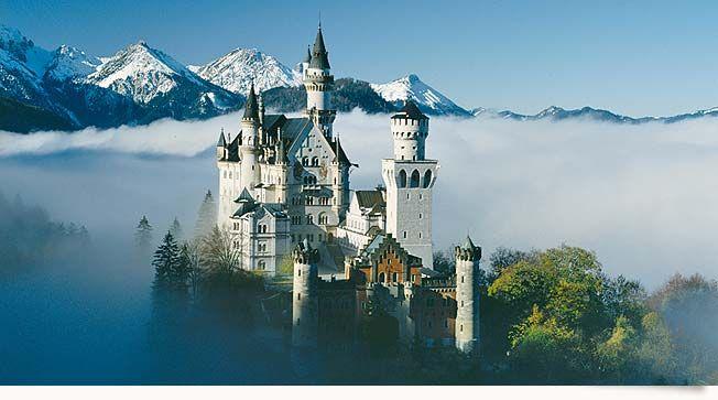"""The castle """"Neuschwanstein"""""""