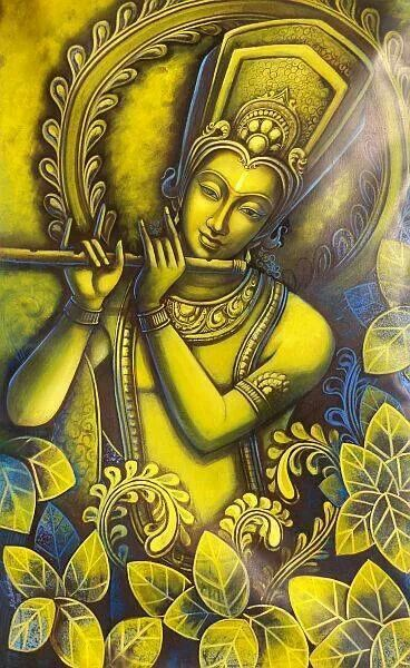 "Krishna's bodily features have become so exquisite---it is as if they are all manifesting an artistic sense of the highest sort. ""Stimulation for Ecstatic Love,"" NECTAR OF DEVOTION, p.218"