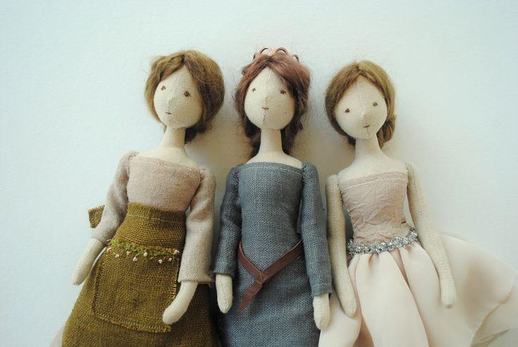 Willowynn cloth dolls :: available online Wednesday 21st October. www.willowynn.com